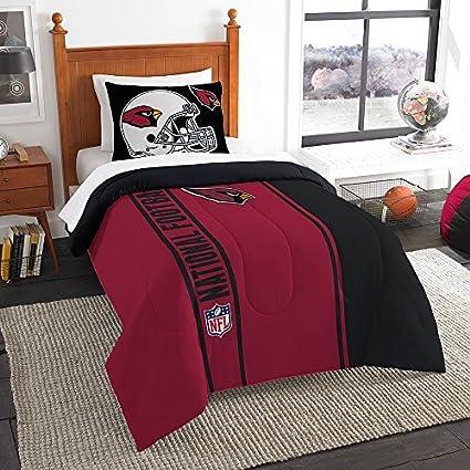 9edb82640c1ac Northwest Sham NOR-1NFL835000080BBB 64 x 86 Arizona Cardinals NFL Twin  Comforter Set, Soft & Cozy