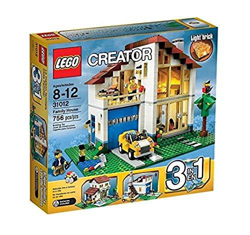 LEGO CREATOR 3-in-1 Family House Building Set - Mediterranean Villa | 31012