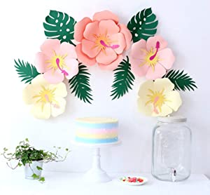Paper Flower Decorations Handcrafted Paper Artificial Flowers Party Paper Flower Backdrop Wedding Flowers , Birthday Backdrop, Nursery Wall Decor, Photo Background Flower (Style-2)