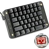 Koolertron 片手メカニカルキーボード ゲーミングキーボード 43キー プログラム可能 Windows 7/8/10/Mac OS/Linux (Gateron赤軸)