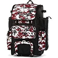 "Boombah Rolling Superpack 2.0 Camo Baseball/Softball Gear Bag - 23-1/2"" x 13-1/2"" x 9-1/2"" - Multiple Colors…"