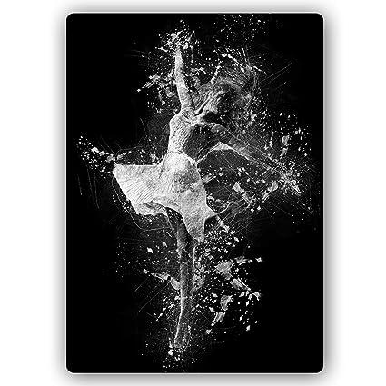 Carowall Carowallcom Poster Métallique Ballerine Image