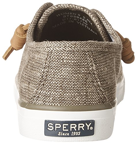 Linen Shoes Sperry Olive Women's Seacoast Heavy Dark tRxwa4q