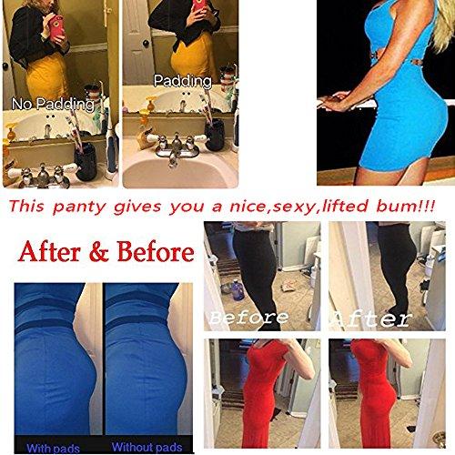 Women Hip Buttocks Padded Panties Underpants Butt Enhancer Bum Lift Shaper Panty