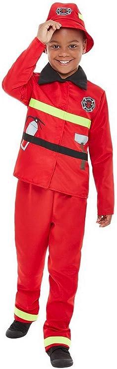 Fancy Ole – Disfraz de Bombero para niño con Chaqueta, pantalón y ...
