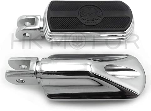 Chrome FootPeg For Harley 2018-later FXBB FXBR FXBRS FXLR 2019 Street Bob