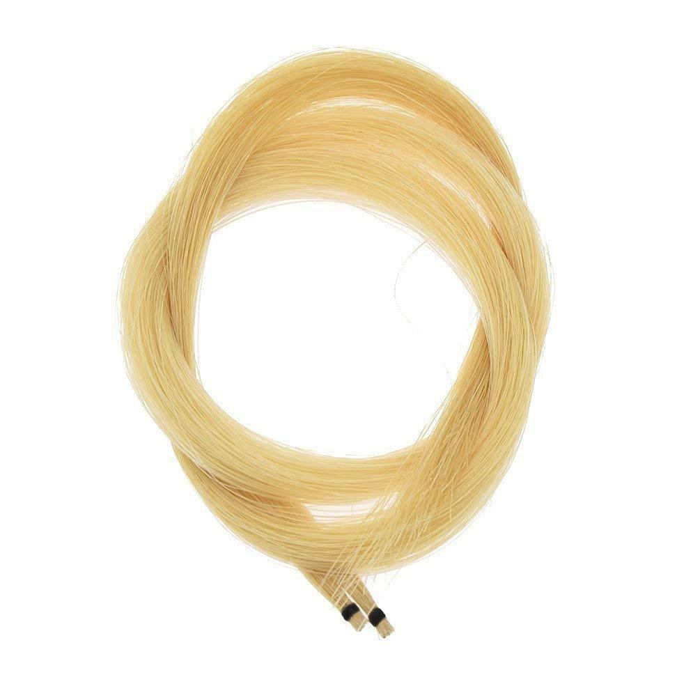 Timiy 2 Hanks 32 Inch Professional Violin Bow Hair Made of Genuine Mongolian Horse Hair