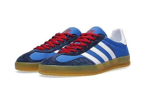 0add7dfb7b4 Adidas Gazelle Indoor Men Shoes Blue Bird Running White G96686 (SIZE  8.5)