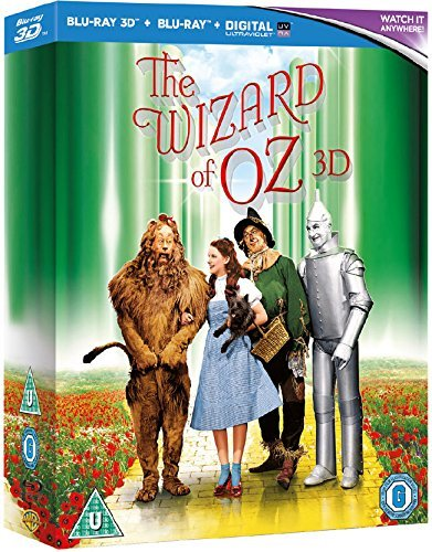 The Wizard of Oz - 75th Anniversary Edition [Blu-ray 3D + Blu-ray] [1939]
