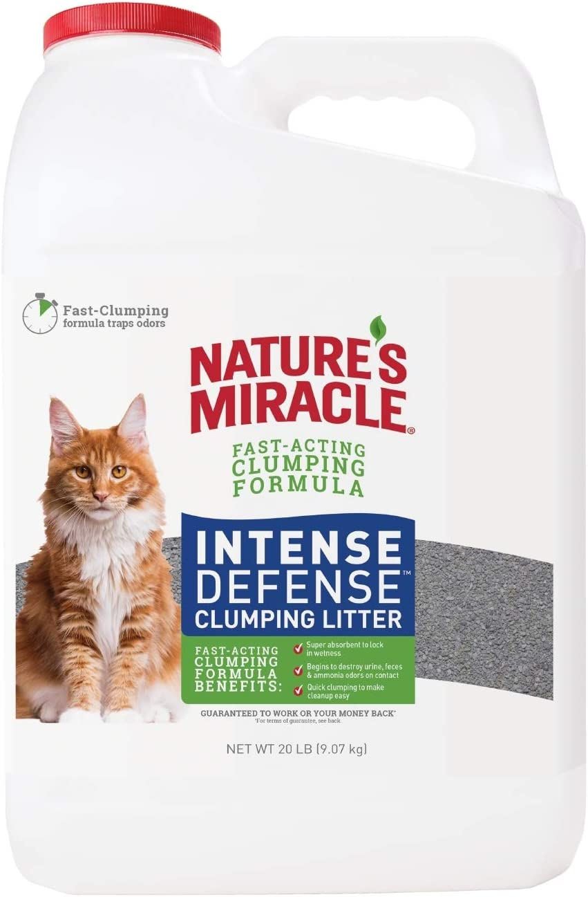 Nature's Miracle Intense Defense Clumping Cat Litter Image