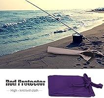 Fishing Rod Sleeve Durable Cotton Cloth Fishing Rod Bag