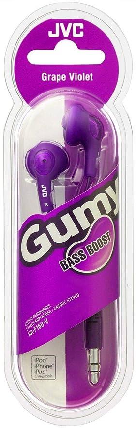 945073aa935 JVC F160 Gumy Bass Boost Stereo Headphone Earphones for iPod Mobile phones  MP3