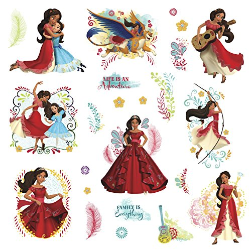 Price comparison product image Disney Elena of Avalor Peel and Stick Wall Decals