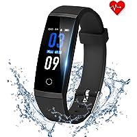 GOOPOW Waterproof Smart Fitness Tracker Band (Black)