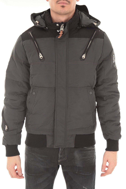 53791a8d23c7 DOUDOUNE REDSKINS HOMME JASON GERWIN ARDOISE Couleur Gris Taille XL   Amazon.co.uk  Clothing
