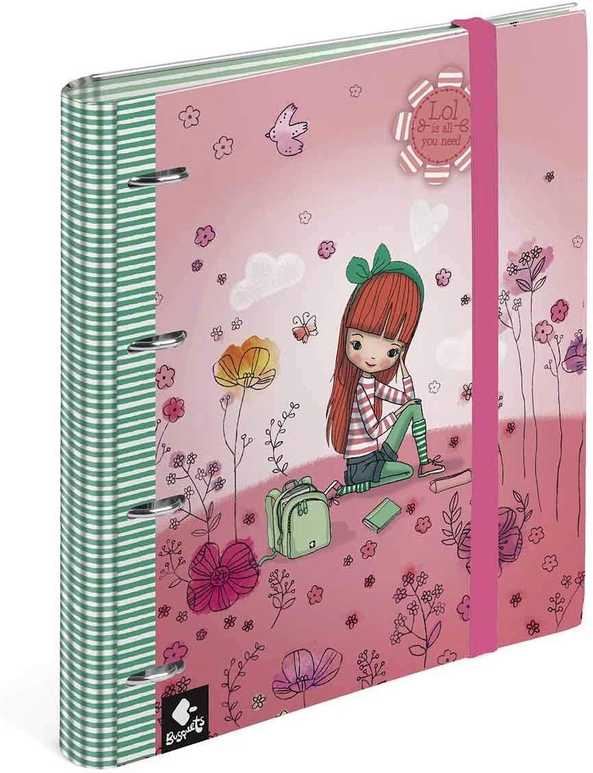 Carpeta Anillas Recambio Lol by Busquets