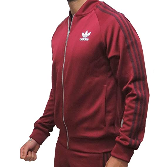 63bdd82d4184 adidas Originals Track Jacket Mens SST Superstar Retro Tracksuit Top  Trefoil New BQ7762  Amazon.co.uk  Clothing