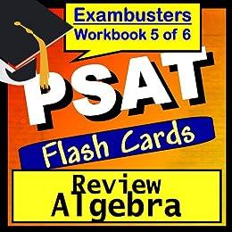 PSAT Test Prep Algebra Review Flashcards--PSAT Study Guide