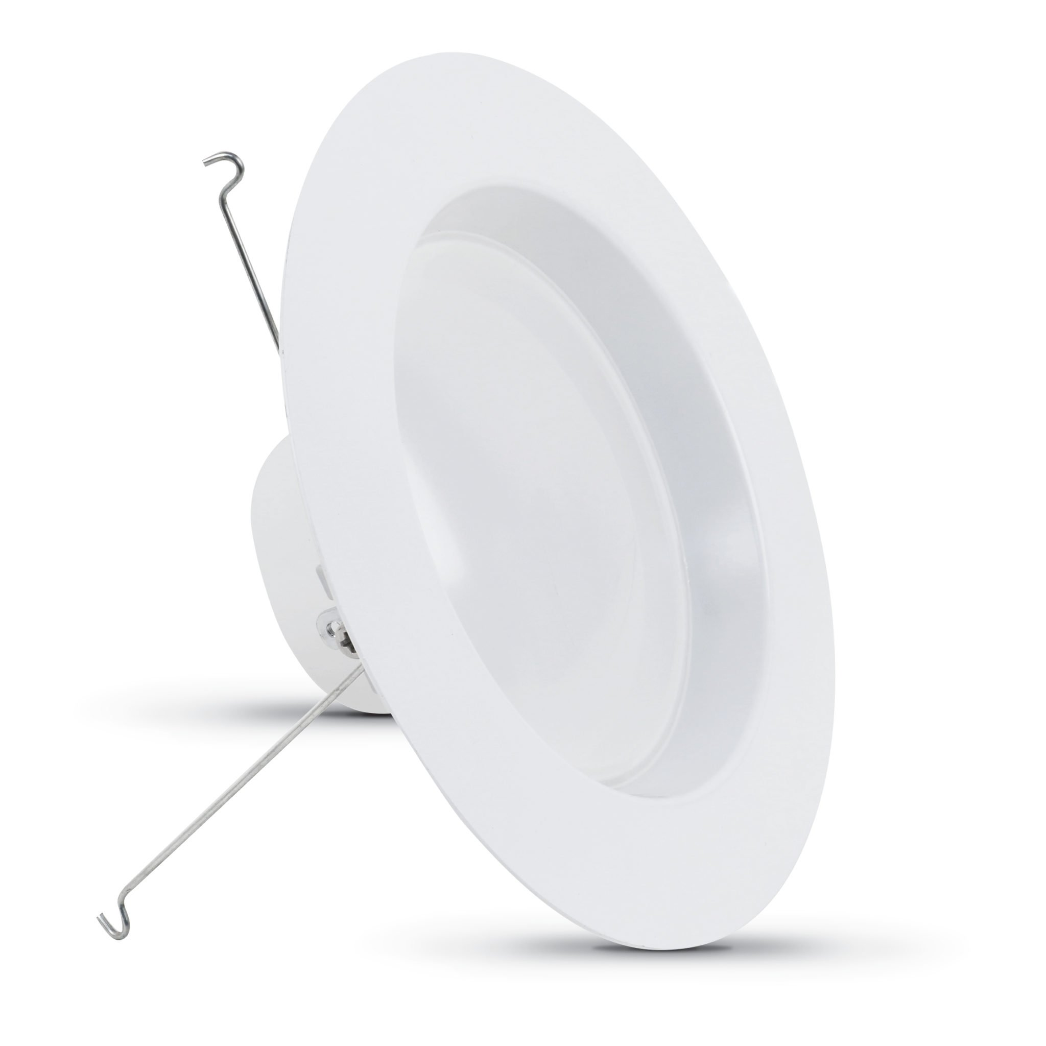Feit 6'' Dimmable Retrofit LED Kit, CA Title 24 Compliant, 2700K (2700K - HIGH Output - 6-Pack)