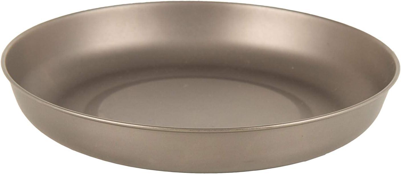 Lifeventure Unisex's Titanium Plate, Silver, One Size