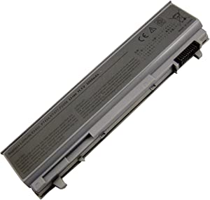 Bay Valley Parts 5200mAh Battery for Dell Latitude E6400 E6410 E6500 E6510 Precision M2400 M4400 M4500 M6500 Notebook Laptop Battery Replacement 4M529 KY265 PT434 312-0749