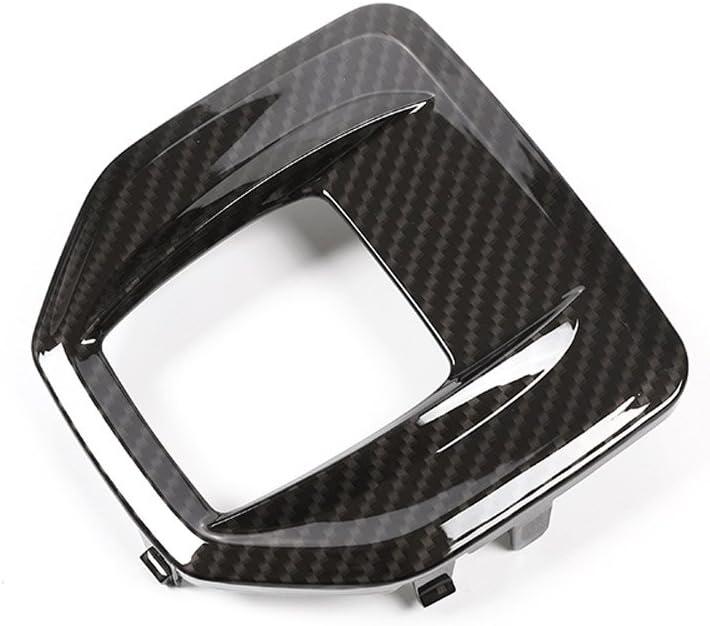 per interni di ricambio dellauto Pannello di rivestimento per il cambio in plastica ABS in simil fibra di carbonio