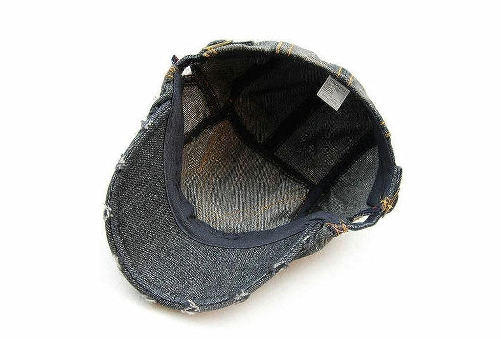 LTFT Cotton Denim Newsboy Ivy Cap Punk Embroidered Baseball Snapback Trucker Hat