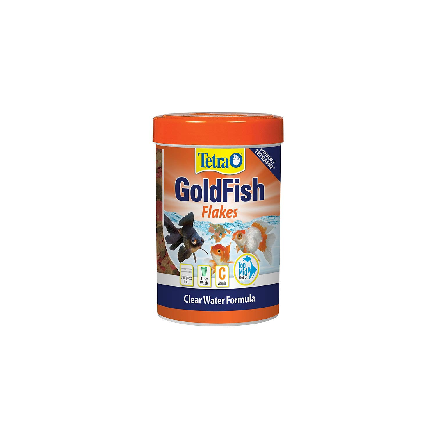 TetraFin Goldfish Flakes Fish Food, 2.20-lb bucket - Chewy.com