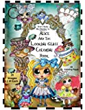 Sherri Baldy TM My-Besties TM Alice and the Looking Glass Coloring Book
