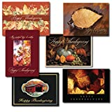 Thanksgiving Greeting Card Assortment. A variety box set of six different seasonal cards and verses designed and written for both personal and business use.
