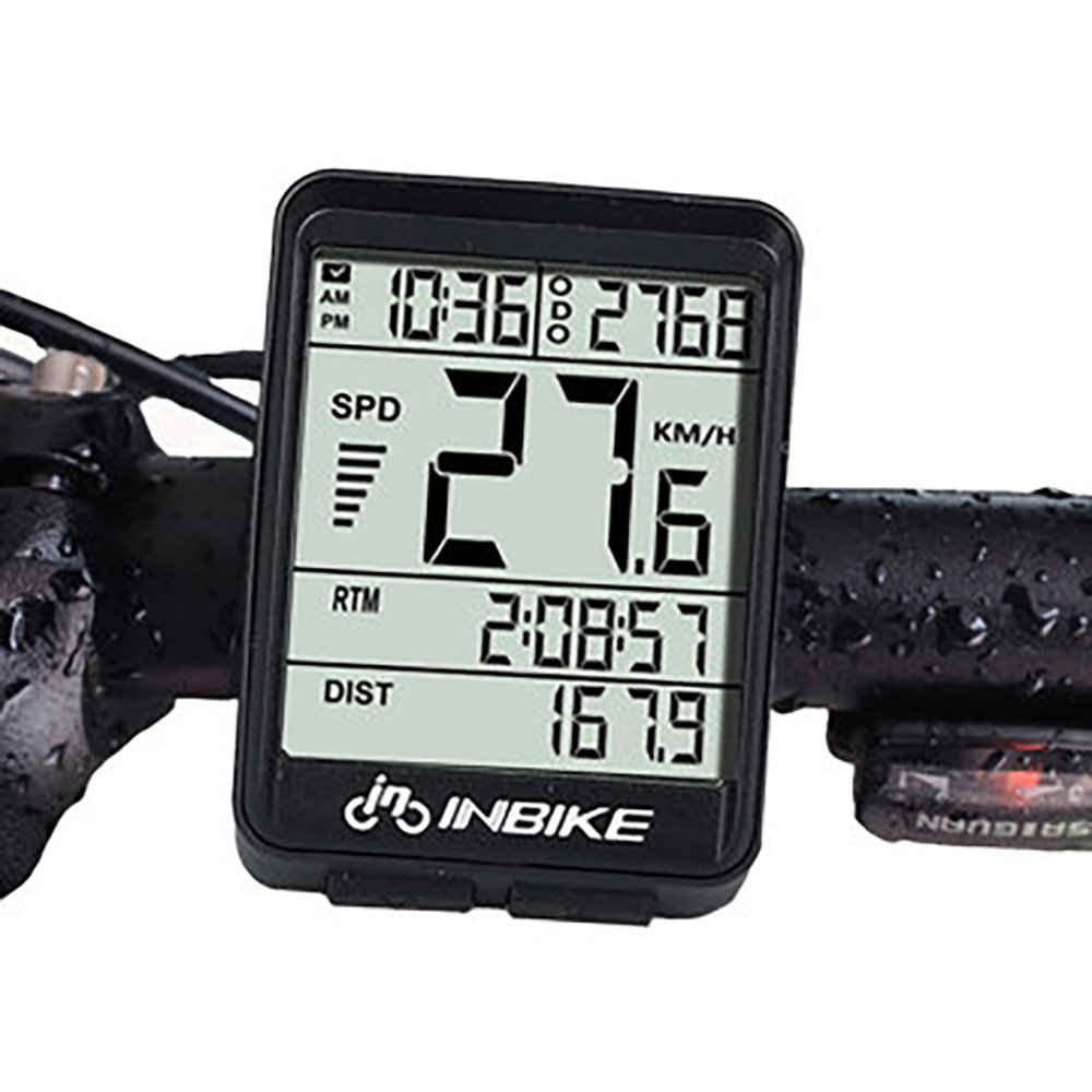 Bike Computer Speedometer Wireless Waterproof Bicycle Odometer Cycle Computer Multi-Function Large LCD Back-light Display by DD&DEE (Image #5)