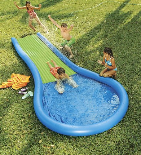 Inflatable Water Slide With Price: Inflatable Water Slide For Kids - Buy Online In UAE.