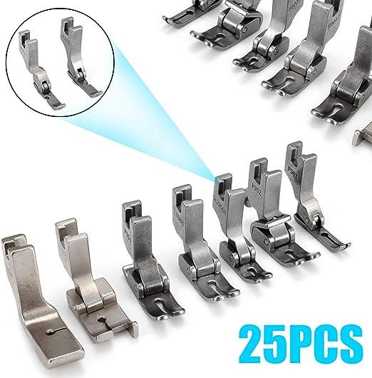 FRJYJLLL Pies prensatelas para JUKI DDL-5550 8500 8700 Accesorios para máquinas de Coser industriales: Amazon.es: Hogar