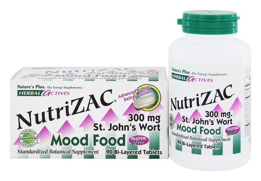 Nutrizac Mood Food Nature's Plus 90 Tabs