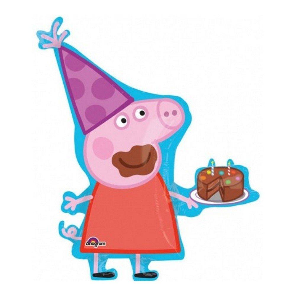 GUIZMAX Grand ballon Peppa Pig helio nuevo: Amazon.es: Juguetes y ...