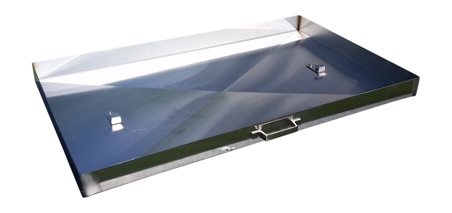 Griddle Cover, Stainless Steel, for 28-inch Blackstone Griddle by Backyard Life Gear (Image #2)