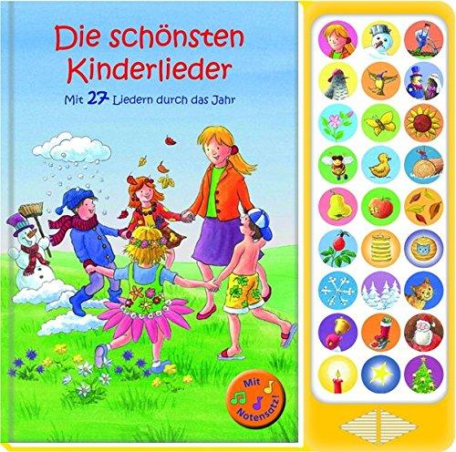 27-button-soundbuch-die-schnsten-kinderlieder-zum-mitsingen-mit-27-liedern-durch-das-jahr-hardcover-buch-mit-noten-liederbuch
