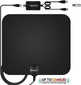 Innoo Tech TV Antenna with Amplifier Signal Booster