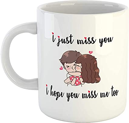 buy tonkwalas missing quotes mug i just miss you i hope you miss