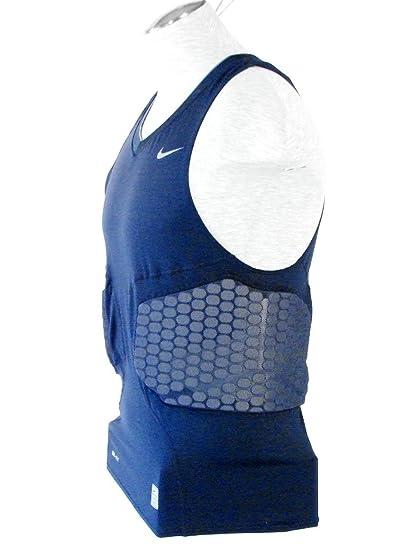 d4109de8 Amazon.com: Nike Pro Combat Basketball Padded Compression Shirt Blue:  Sports & Outdoors