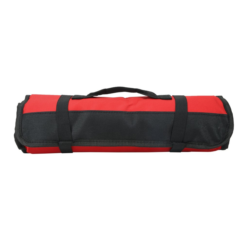 sac /à roulettes robuste rouge cl/és /à cl/és Fushida FSTG01 Sac /à outils avec 38 compartiments pochette /à outils pour /électricien durable pour tournevis