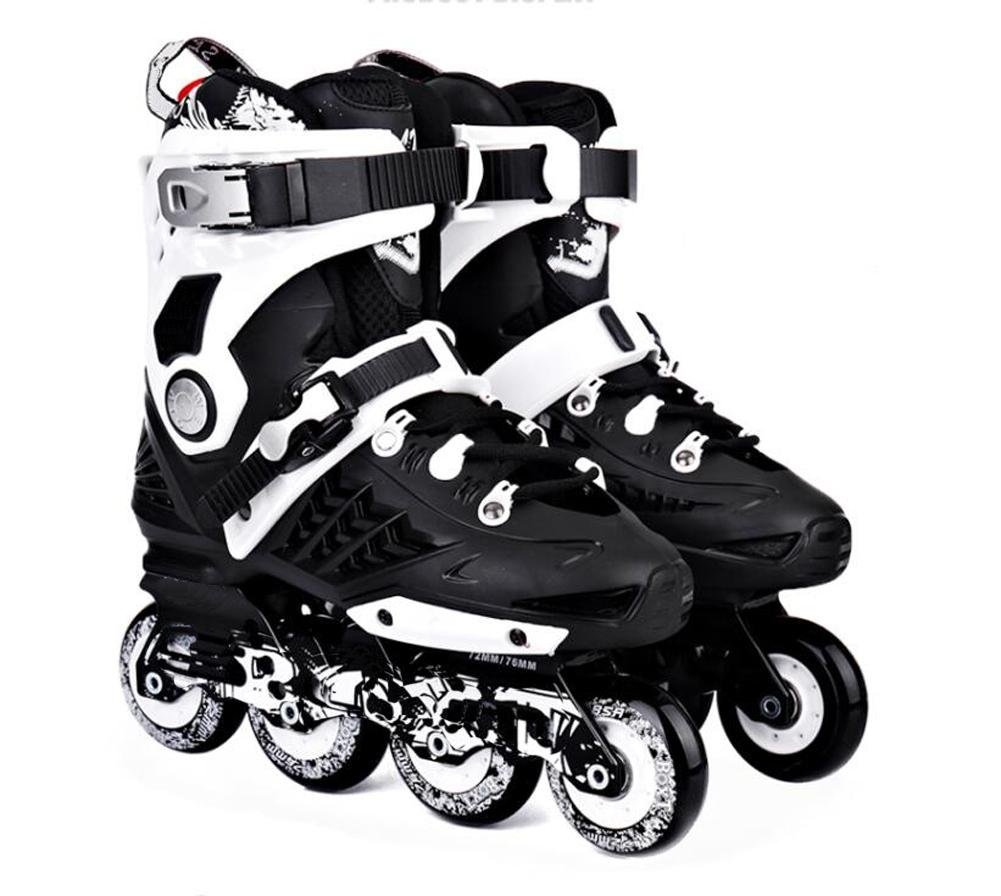 Inline Skates For Men Unisex Racing PP Material New Black , 39 by TX