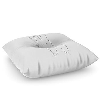 Amazon society6 love yourself bunny floor pillow square 26 x society6 love yourself bunny floor pillow square 26quot solutioingenieria Images