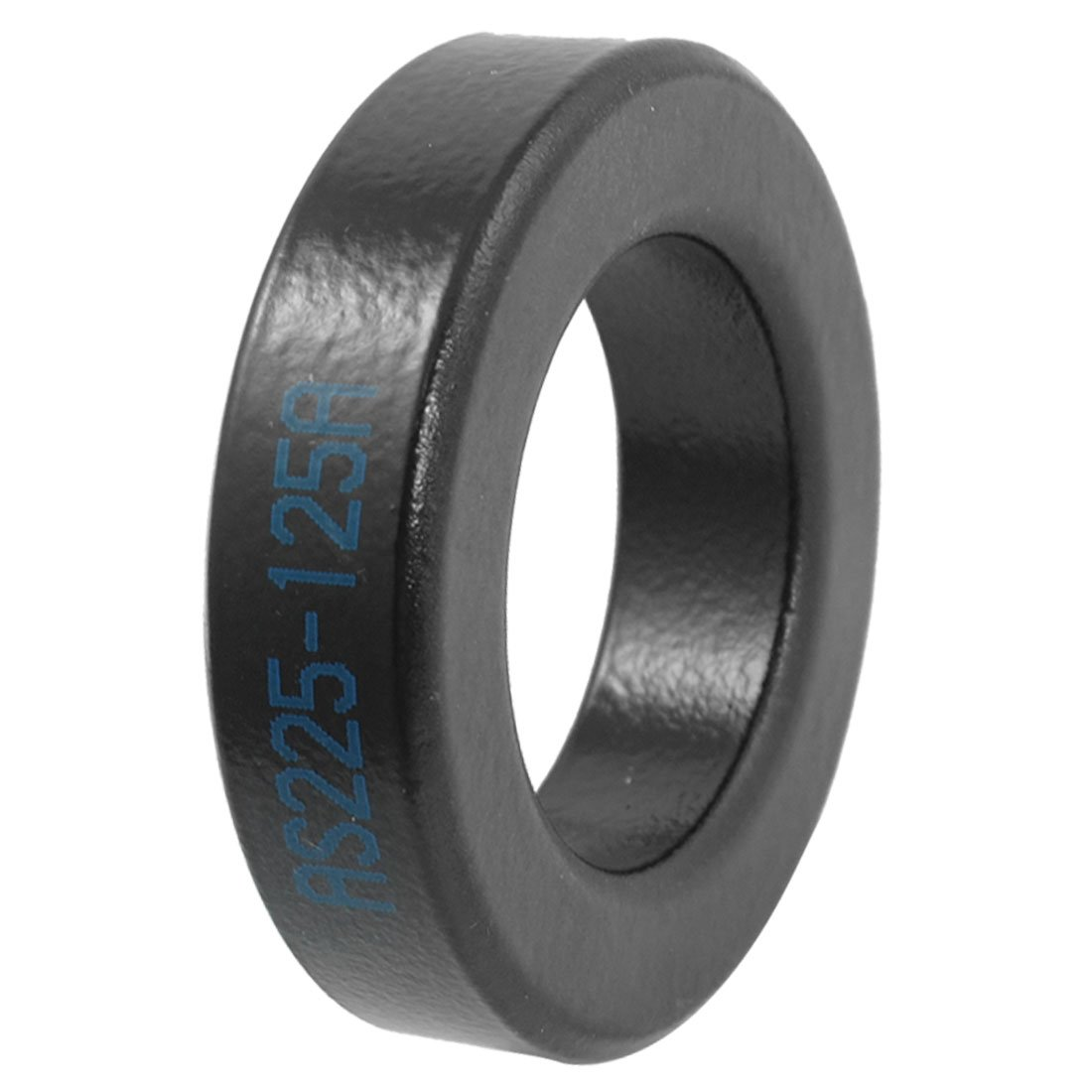 uxcell AS225-125A Ferrite Rings Iron Toroid Cores Black for Power Inductor