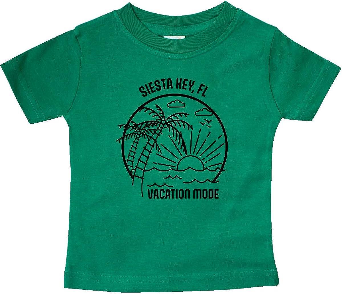 inktastic Summer Vacation Mode Siesta Key Beach Florida Baby T-Shirt