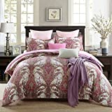 GOOFUN-L2K 3pcs Luxury Duvet Cover Set/Bedding Set(1 Duvet Cover + 2 Pillow Shams) Lightweight Microfiber Well Designed Print Pattern - Comfortable, Breathable, Soft & Extremely Durable,King Size