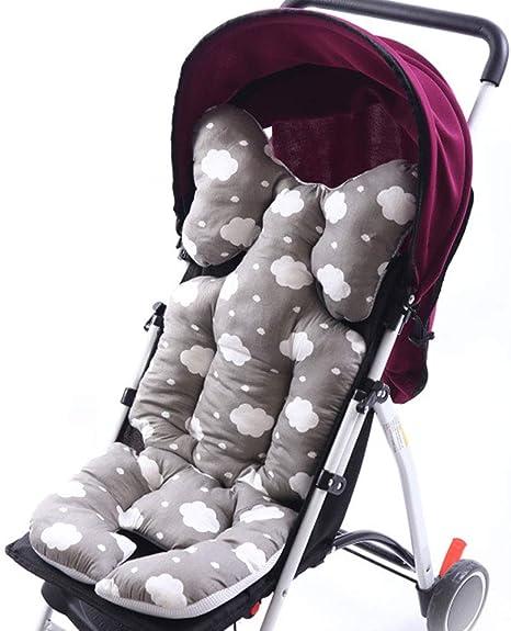 Cojín para cochecito de bebé, funda de asiento de coche para