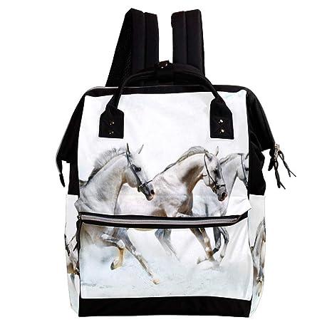 Caballos Cambio de mochila, bolsa de pañales para bebés ...