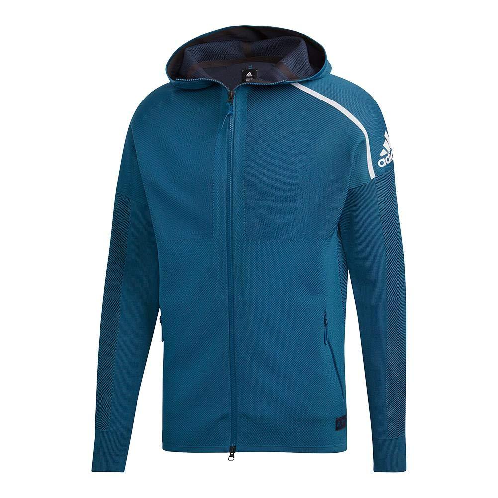 adidas Men`s Parley Primeknit ZNE Tennis Hoody Petrol Night ()
