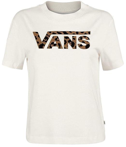 Vans Camiseta Cuadrada Spoteed Marshmallow Leopard: Amazon.es: Ropa y accesorios
